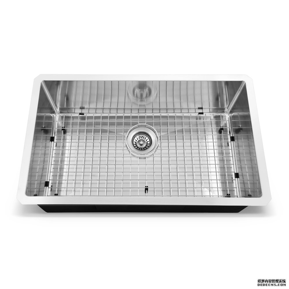VCCUCINE 30 Inch Undermount Single Bowl Kitchen Sink, 304 St