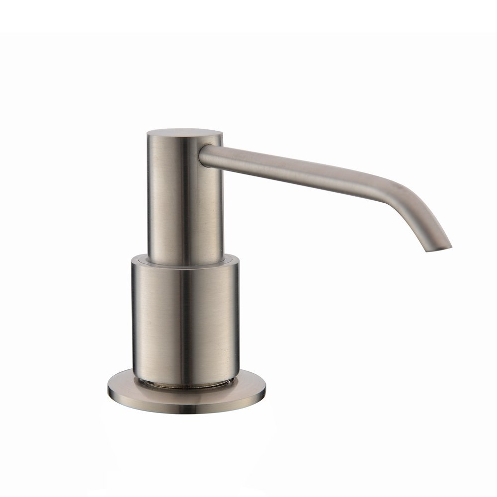 VCCUCINE Brushed Nickel Kitchen Countertop Soap Dispenser