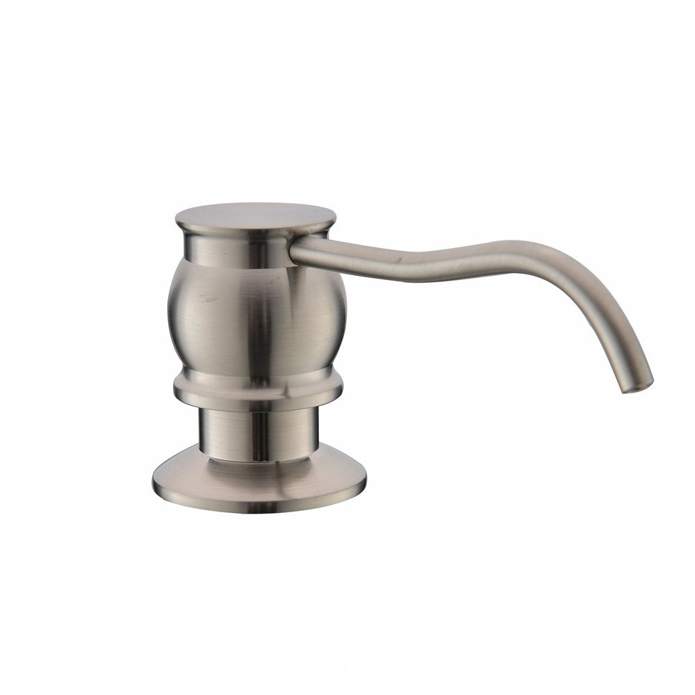VCCUCINE Country Brushed Nickel Sink Soap Dispenser